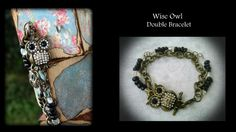 Wise Owl Double Bracelet