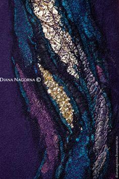 Купить или заказать Авторское платье из мериносовой шерсти и шелка'Тысяча и одна ночь' в интернет-магазине на Ярмарке Мастеров. Вечернее платье из новой коллекции ' my Blue Shade ' Красивое , яркое платье, глубокого синего цвета. Выполнено в технике нуно-войлок из тончайшей мериносовой шерсти и разных видов натурального шёлка . Тонкое и тёплое , приятное тактильно. Застёгивается на молнию. Ручная работа . Авторский дизайн. Единственный экземпляр, без повторов.