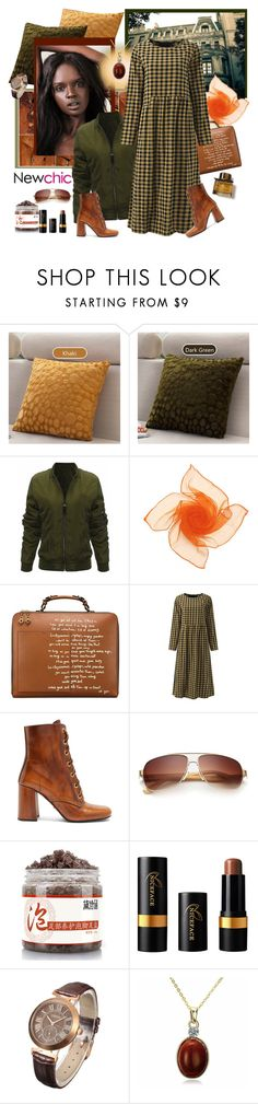 """NewChic 390 (Mix 29.)"" by carola-corana ❤ liked on Polyvore featuring Kerr®, Tory Burch, Gracila, Prada, Burberry and lovenewchic"