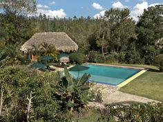 Belize Swimming, Natural Waters & Pool at Blancaneaux Lodge