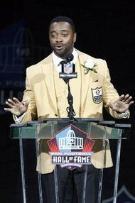 Curtis Martin reflects on mother's pain, lack of passion for football at Hall of Fame - http://www.PaulFDavis.com/success-speaker (info@PaulFDavis.com)