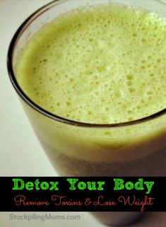 Tips to detox your body to remove toxins and lose weight! This is great when you are going gluten free.