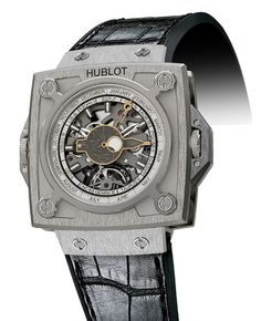 By far, one of the most amazing watches I have ever seen. I will buy myself a Hublot one day.