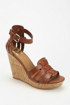 Dolce Vita Cadby Ankle-Wrap Wedge Sandal