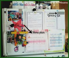 Mommy & the Monsters: Meal Planning 101