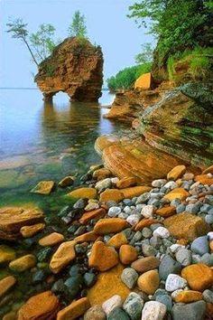 Seastack, Apostle Islands National Lakeshore, Wisconsin. Impressive Photos - Google+