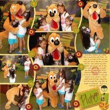 2008 MK Pluto - MouseScrappers - Disney Scrapbooking Gallery