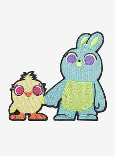 How to Draw Ducky and Bunny from Toy Story 4 in 2019 ...