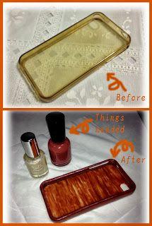 Fashion :: DIYs :: Journal :: Beauty: Easy phone case DIY