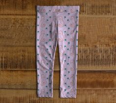 """Baby+leggings+(3+years)+""""Seahorses+and+Palms+""""+by+IC+Creations"""