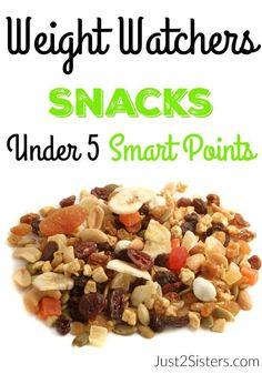 Weight Watchers Snacks Under 5 Smart Points