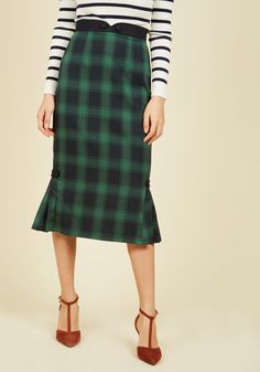 Care to Converse? Pencil Skirt, @ModCloth