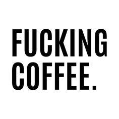 Poster | FUCKING COFFEE von CreativeAngel