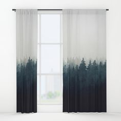 A Wilderness Somewhere Window Curtain by Tordis Kayma on Society6