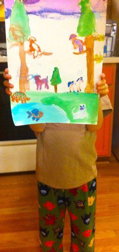 My art boy.