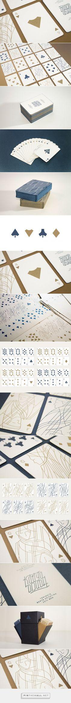 Cartes à jouer épurées par Krisztina Berta - Blog Esprit Design