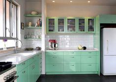 משחקי השף: כך תכניסו צבע למטבח בלי לפחד | בניין ודיור