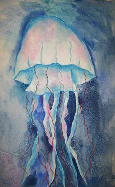 MaryMaking: Mixed Media Jellyfish