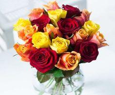 flowers direct autumnal mixed roses no description