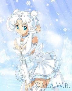 Sailor Snowflake Prize drawn by Drachea Rannak by MarshmallowSquishy.deviantart.com