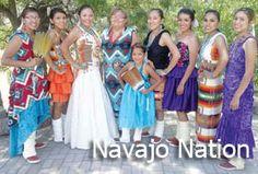 Navajo people wear contemporary clothing.