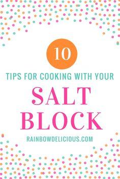Salt Block Cooking Recipes & Tips - Rainbow Delicious