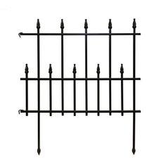 28.35-in H x 22.5-in L Empire Border Fence