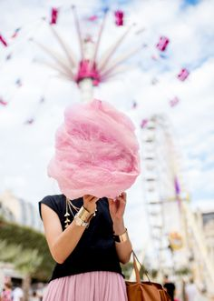 National Cotton Candy Day is celebrated on December 7 to our sweet tooth's joy and our dentists' dismay. But did you know dentists actually invented it in the first place? It was even called fairy floss back in the day. Now, it's the go-to at county fairs and a must-have when riding a Ferris wheel. Most of our childhood memories wouldn't have been complete without the sugary cloud that is cotton candy. #cottoncandy #fandbrecipes #foodblog Soup Recipes, Vegetarian Recipes, B Recipe, Eat Right, Food Cravings, Boss Lady, Cotton Candy, Women Empowerment, A Food