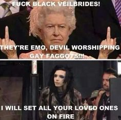Andy Biersack and the Queen funny