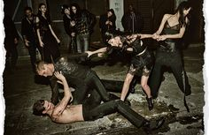 - Slideshow - Riccardo Tisci - Interview Magazine LAURENCE RODRIGUEZ male model