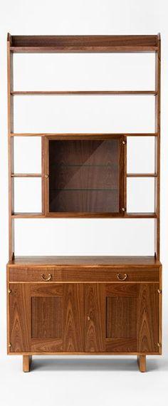 Bookcase 2112 - Mahogany, Cabinet with cabinet, Josef Frank | Svenskt Tenn
