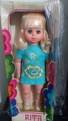 Boneca Rita - Estrela - Anos 70 - Com Caixa - Rara - R$ 300,00 no MercadoLivre