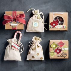 Tags and packaging that will delight even the grinchiest of grinches!