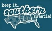 Keepin' it Southern-BTW, only the northern part of Florida should be on that map.  The rest of the state is NOT the South.