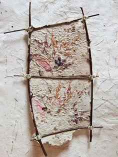 Handmade paper panel by Boby Dimitrov, via Flickr