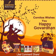 Cornitos wishes you all a very Happy Govardhan! Can you tell us why is Govardhan Puja celebrated ?