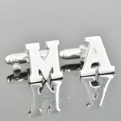 A personal favorite from my Etsy shop https://www.etsy.com/listing/216511374/personalized-cufflinks-initial-cufflinks