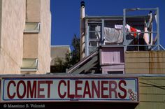 Travel light: Comet cleaning