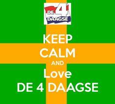 #Vierdaagse #Nijmegen Morgen gaat het beginnen, iedereen succes met de voorbereidingen vandaag! #wijchen