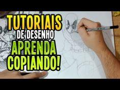 Carlos Damasceno Vídeos: Tutoriais de Desenho - Como aprender usando Referê...