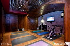 yoga studios | The yoga studio at The White Buffalo Club in Jackson Hole.