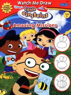 Watch Me Draw Disneys Little Einsteins Amazing Missions @ niftywarehouse.com #NiftyWarehouse #Disney #DisneyMovies #Animated #Film #DisneyFilms #DisneyCartoons #Kids #Cartoons