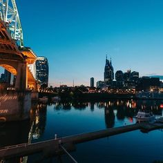 What a view from @thebridgebuilding. Congrats to Angelynn + Ryan who tied the knot last weekend! #mynashvillewedding #nashvilleweddings #nashvilleevents #infinityweddings #exploreinfinitenashville #bridgebuildingnash #nashvilleskyline #nashvilletn