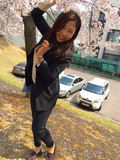 Full of Cherry Blossoms in Hanyang University Erica Campus