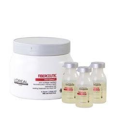 Kit Duo Fiberceutic Cabelo Grosso - 500 g + 3x 15 ml