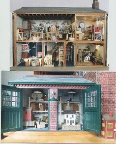 Dolls house factory in miniature! full interior