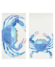 AmazonSmile: HomArt Fireplace Matches, Large, Watercolor Crab Design: Health…