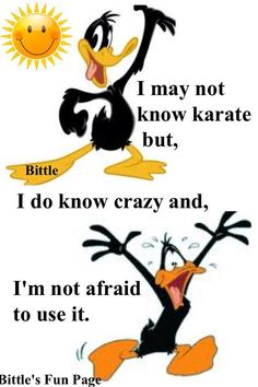 Funny Minion Memes, Cartoon Jokes, Funny Cartoons, Funny Jokes, Cartoon Characters, Hilarious, Daffy Duck Quotes, Bunny Quotes, Looney Tunes Cartoons