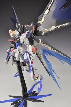 [Modelers-G] MS-Build MG 1/100 Strike Freedom Gundam w/ 1/100 Resin Conversion Kit - Customized Build