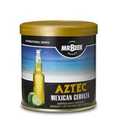 Mr. Beer Aztec Mexican Cerveza Refill Brew Pack
